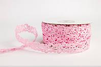 Тасьма декоративна вьюнчик рожева
