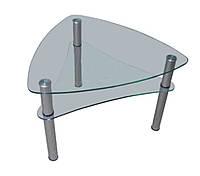 Стеклянный журнальный столик СТ- 501