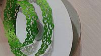Тесьма декоративная вьюнчик зеленая