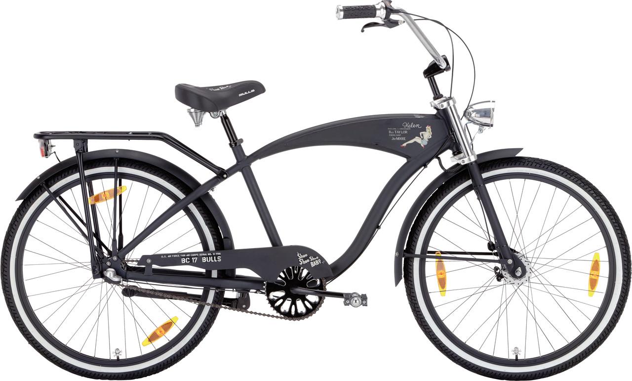 """Велосипед круизер Bulls BC-17 26"""" (3 Gg) 548-21846 черный"""