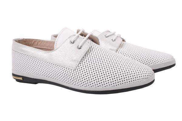 Туфли комфорт Destino натуральная кожа, цвет белый