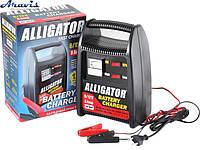 Зарядное устройство для автомобильного аккумулятора Alligator AC-804 8А 6-12V стрелка