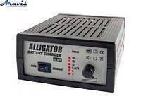 Зарядное устройство для автомобильного аккумулятора Alligator AC-805 18А 12V импульсное