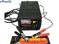 Зарядное устройство для автомобильного аккумулятора Электрон-М 6А 6-12V импульсное
