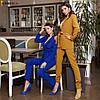 Жіночий костюм, брюки-дудочки і подовжений піджак, костюмна тканина. Розмір: 42-44. Різні кольори. (Р 2458), фото 10