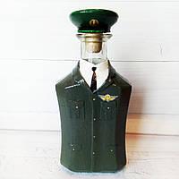 Подарок военному на день пограничника день защитника Украины  Сувенирная бутылка Полковник ДПСУ