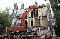 Демонтаж кирпичного здания, фото 1