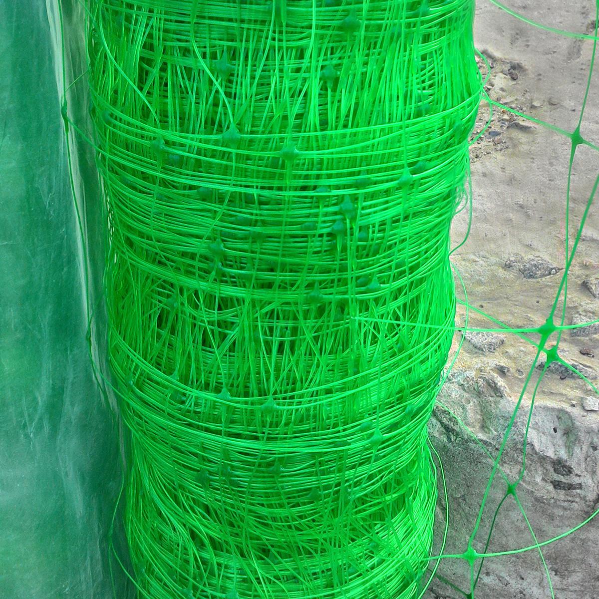 Венгерська сітка шпалерна, для вирощування огірків, рослин, квітів  1,7м 100 м комірка 15х17