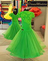 Платье для бальных танцев (бейсик)  Spring - fat «Chrisanne» и «DSI» (Великобритания)