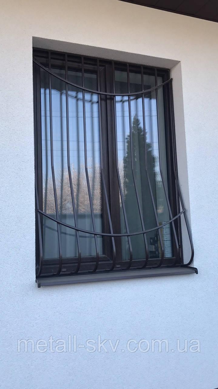 Решітки на вікна металеві