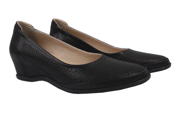 Туфли Guero натуральная кожа, цвет черный