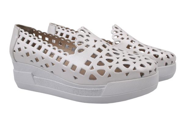 Туфли комфорт Guero натуральная кожа, цвет белый