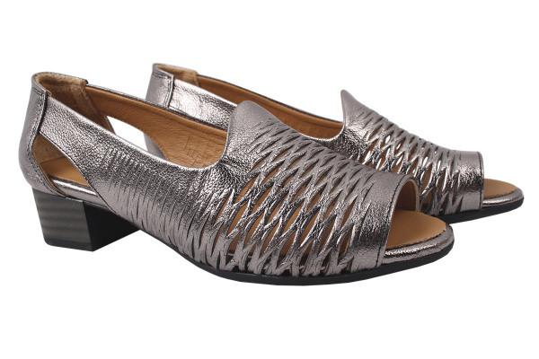 Туфли комфорт Guero натуральная кожа, цвет платина