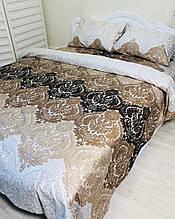 Комплект постельного белья Полуторный ,  сатин Люкс Эйфория.