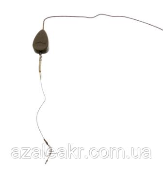 Готовая оснастка на ледкоре Carp Pro In-line Flat Pear №4 56 г, фото 2