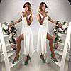 Сарафан на бретелях с красивой спинкой, ткань: шифон на подкладке. Размер: С,М. Разные цвета (6361), фото 3