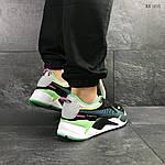 Мужские кроссовки Puma RS Running System (зелено/серые), фото 6