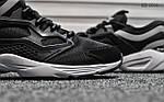 Мужские кроссовки Reebok Fury (черно/белые), фото 4