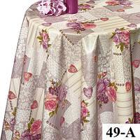 Клеенка на стол Dekorama 49 A, B. Рулон. Турция., фото 1