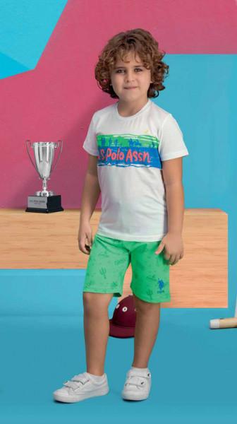 Футболка+шорти для хлопчика 419-4 U. S. Polo Assn