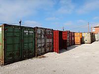 Морской контейнер 20 футов требующий ремонт