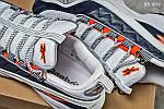 Мужские кроссовки Reebok DMX (серо/оранжевые), фото 2