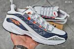 Мужские кроссовки Reebok DMX (серо/оранжевые), фото 4
