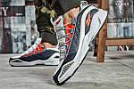 Мужские кроссовки Reebok DMX (серо/оранжевые), фото 5