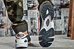 Мужские кроссовки Reebok DMX (серо/оранжевые), фото 6