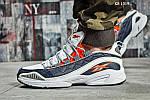 Мужские кроссовки Reebok DMX (серо/оранжевые), фото 8