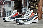 Мужские кроссовки Reebok DMX (серо/оранжевые), фото 7