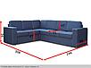 Угловой диван Аскольд B-32 Вика (раскладной), фото 6