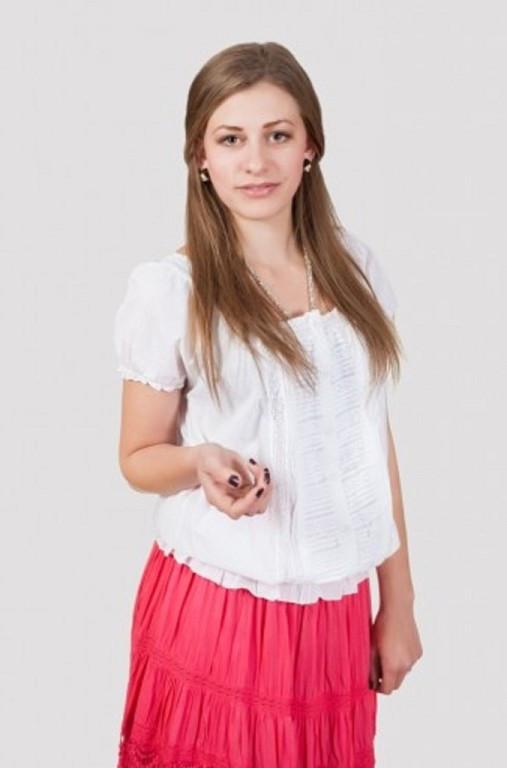 Качественная летняя блуза больших размеров на резинке