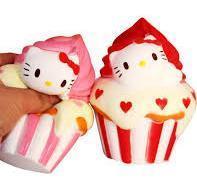"""Игрушка - Антистресс с ароматом  """"Squishy Hello Kitty"""""""