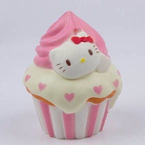 "Игрушка - Антистресс с ароматом  ""Squishy Hello Kitty"" , фото 2"