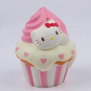 """Игрушка """"Сквиш- Антистресс"""" с ароматом  """"Squishy Hello Kitty"""", фото 2"""