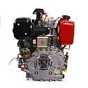 Двигатель дизельный  WEIMA WM188FBE (ВАЛ ПОД ШПОНКУ) 12 Л.С. ЭЛ.СТАРТ, СЪЕМНЫЙ ЦИЛИНДР, фото 9