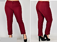 Укороченные брюки женские, с 48-58 размер, фото 1