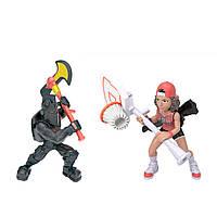 Набір ігрових фігурок Fortnite – Баскетбольний Душа і Чорний Лицар (63531)