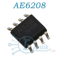 AE6208, драйвер двигателя, SOP8