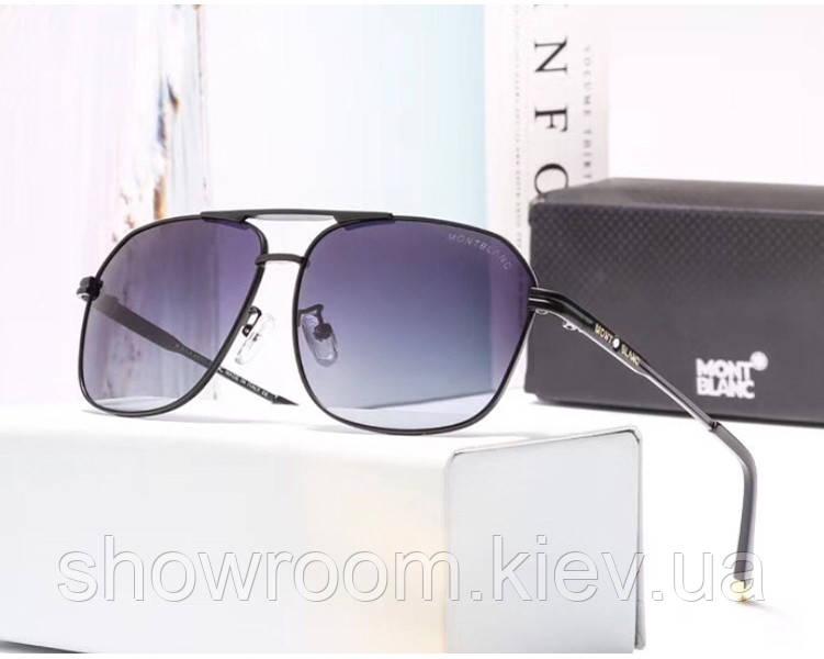 Мужские очки с поляризацией в стиле Montblanc (3018) black