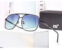 Мужские очки с поляризацией в стиле Montblanc (3018) blue