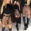Крутейшая юбка из самой качественной эко кожи.  Размер: С,М.  Цвета разные (6370), фото 7