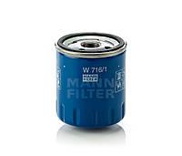 Фильтр масляный SCUDO JUMPY EXPERT 1.9D/2.0HDI 98-06 MANN W716/1