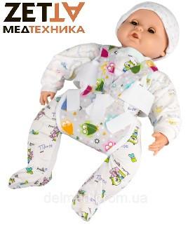 Подушка Фрейка (шина Фрейка, перинка Фрейка) бандаж фиксирующий при дисплазии детский - фото 4