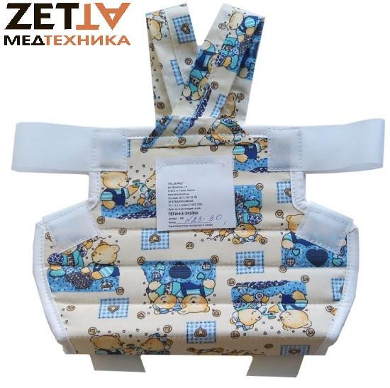Подушка Фрейка (шина Фрейка, перинка Фрейка) бандаж фиксирующий при дисплазии детский - фото 2