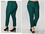 Летние женский брюки в больших размерах: 48.50.52.54.56.58, фото 3