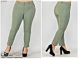 Летние женский брюки в больших размерах: 48.50.52.54.56.58, фото 5