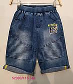 Шорты с имитацией джинсы для мальчиков Seagull оптом, 116-146 рр.