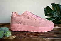 Кросовки NIKE AIR FORCE Розовые  Кроссовки Найк аир форс розовые низкие !